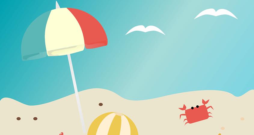 leto plaža